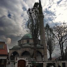 Moschee am Baščaršija-Platz in der Altstadt.