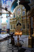 Ein Blick in den Innenraum der Kathedrale.