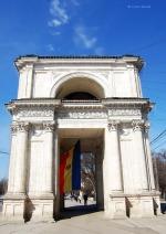 Der Triumphbogen wurde 1827 nach einem Sieg über das Osmanische Reich errichtet.