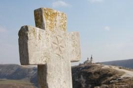 50 Kilometer nördlich von Chişinău erhebt sich das Kloster Orheiul Vechi über eine Schleife das Flusses Răut.