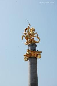 Der heilige Georg ist der Schutzheilige des Kaukasusstaates.